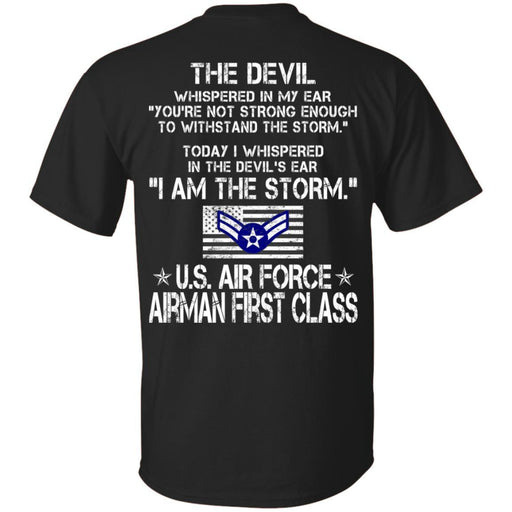 2- I Am The Storm - US Air Force Airman First Class CustomCat