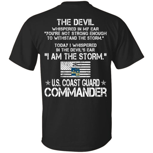 20- I Am The Storm - US Coast Guard Commander CustomCat