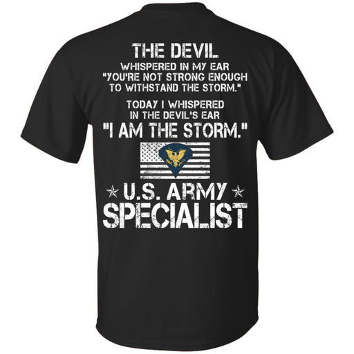 3- I Am The Storm - Army Specialist CustomCat