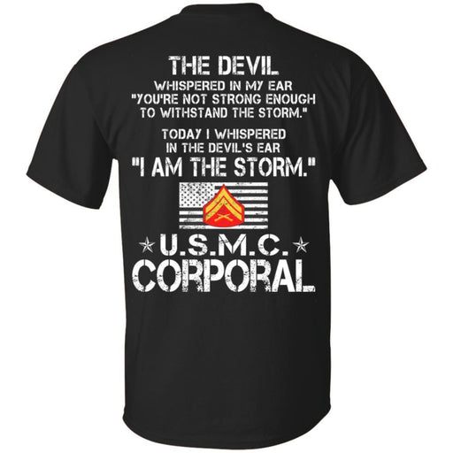 3- I Am The Storm - USMC Corporal CustomCat