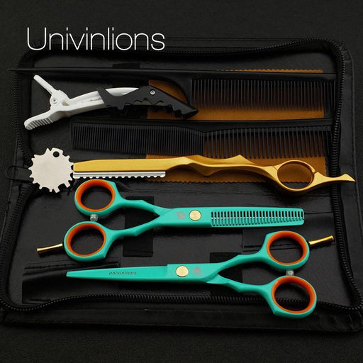 "5.5"" Hair Cut Scissors & Comb Set For Hairstylist My Soul & Spirit"