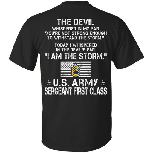 I Am The Storm - Army Sergeant First class