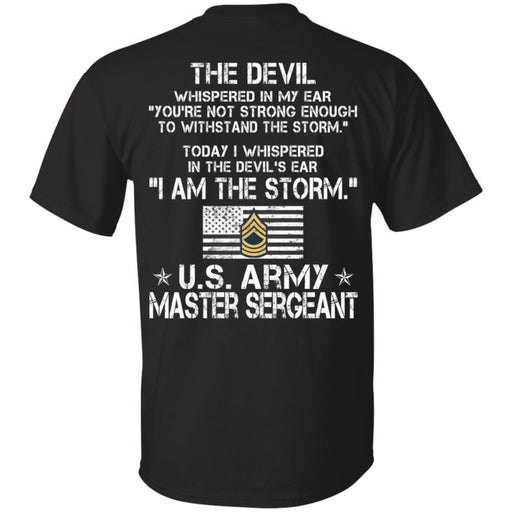 8- I Am The Storm - Army Master Sergeant CustomCat