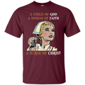 A Child Of God A Woman Of Faith A Nurse Of Christ Tshirt CustomCat