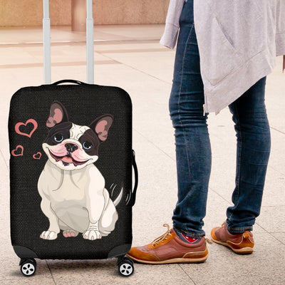 Adorable Bulldog Luggage Covers My Soul & Spirit