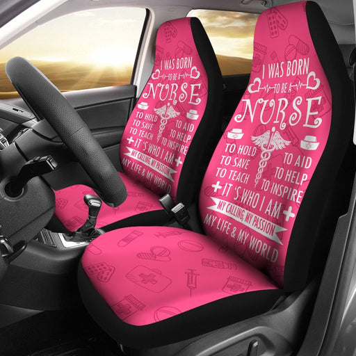 Adorable Nurse Life Car Seat Covers (Set Of 2) My Soul & Spirit