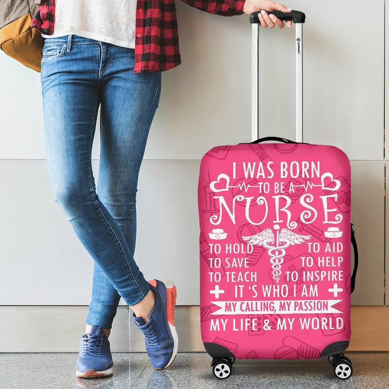Adorable Nurse Life Luggage Cover interestprint