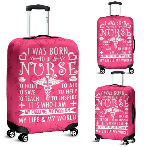 Adorable Nurse Life Luggage Covers My Soul & Spirit