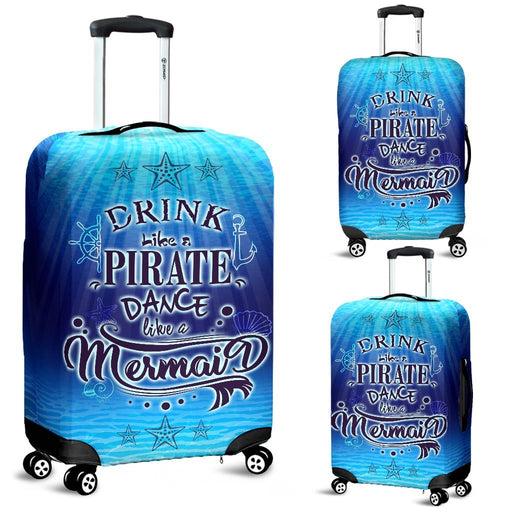Adorable Pirate Drink - Mermaid Dance Luggage Covers My Soul & Spirit