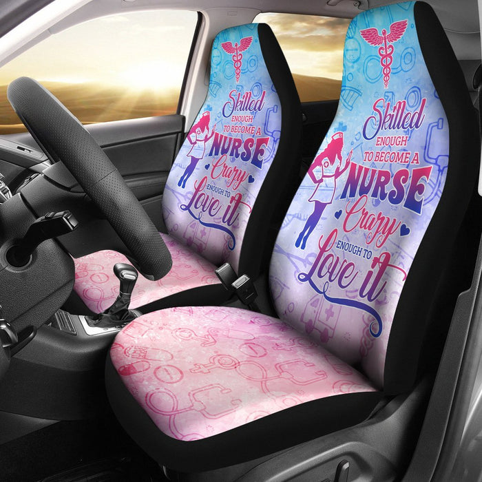Adorable Skilled Nurse Car Seat Covers (Set Of 2) My Soul & Spirit