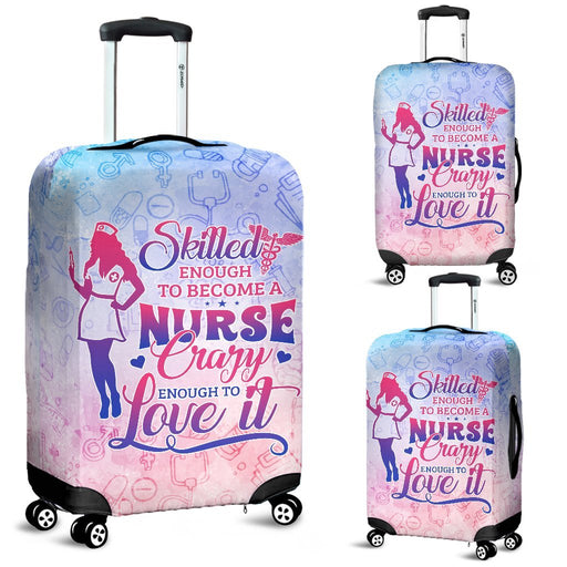 Adorable Skilled Nurse Luggage Covers My Soul & Spirit