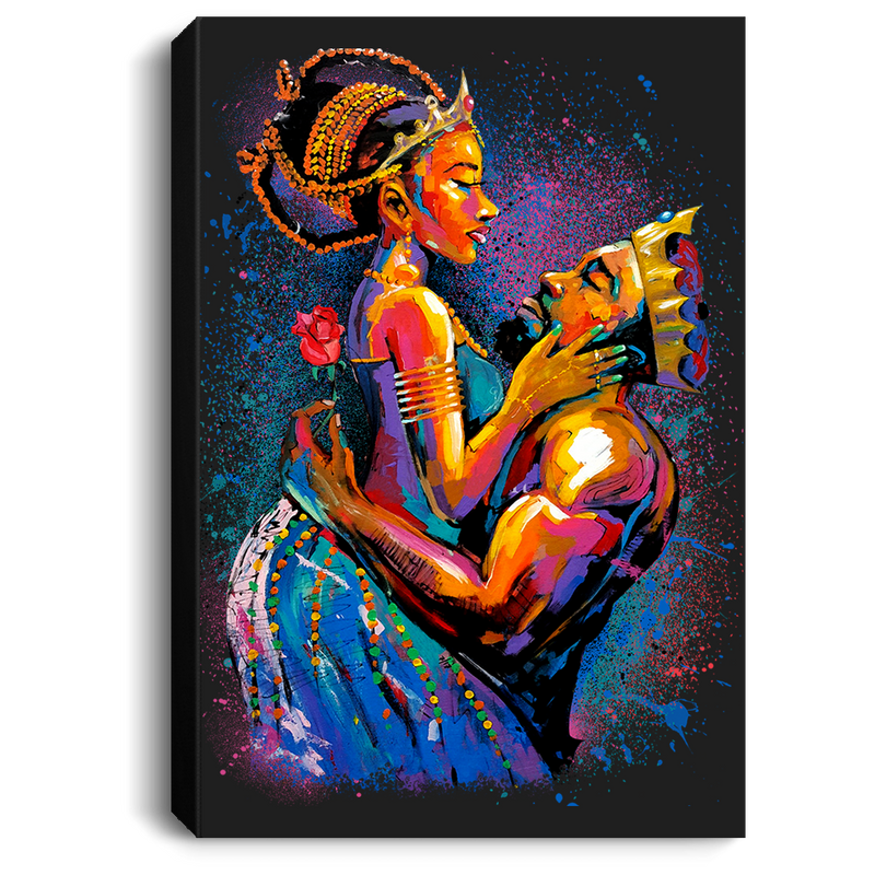 African American Canvas - Queen And King For Living Room Home Decor