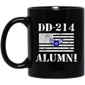 Air Force Coffee Mug DD 214 Alumni - Air Force Airman First Class 11oz - 15oz Black Mug CustomCat