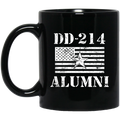 Air Force Coffee Mug DD 214 Alumni - Air Force Brigadier General 11oz - 15oz Black Mug CustomCat