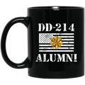 Air Force Coffee Mug DD 214 Alumni - Air Force Major 11oz - 15oz Black Mug CustomCat