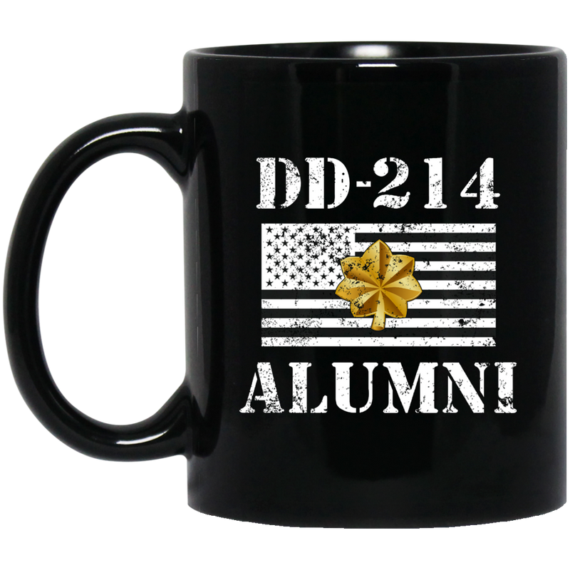 Air Force Coffee Mug DD 214 Alumni - Air Force Major 11oz - 15oz Black Mug