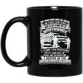 Air Force Mug A Good Deal Of Pride And Satisfaction I Served In The United States Air Force 11oz - 15oz Black Mug CustomCat
