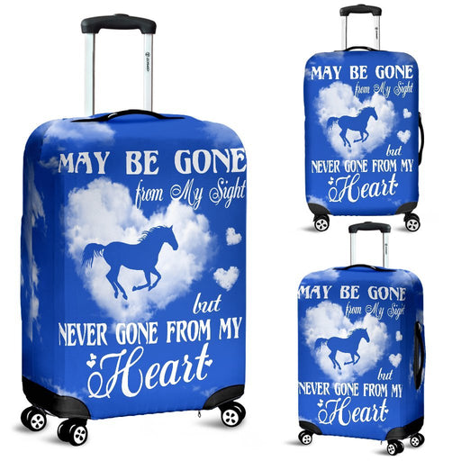 Alway In My Heart Luggage Covers My Soul & Spirit