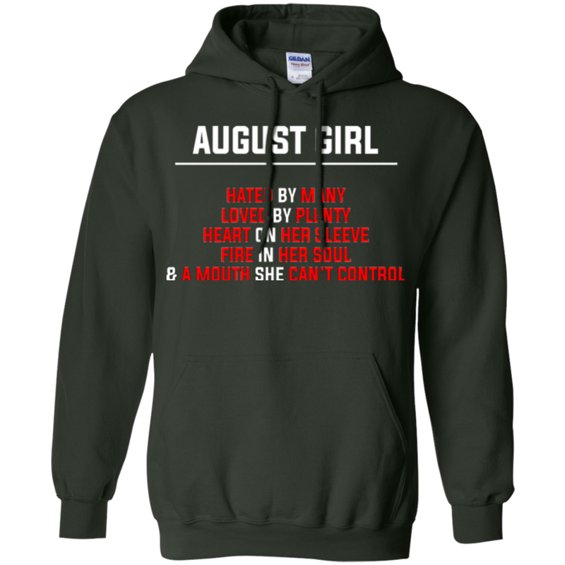 August girl funny T-shirts CustomCat