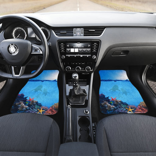 Awesome Sea Creatures Under Sea Car Mats (Set Of 2) My Soul & Spirit