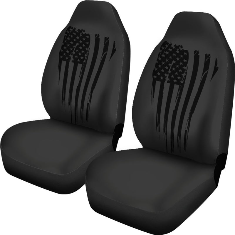 Awesome Veteran American Car Seat Covers (Set of 2) interestprint