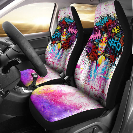 Beautiful Black Girl Car Seat Cover My Soul & Spirit