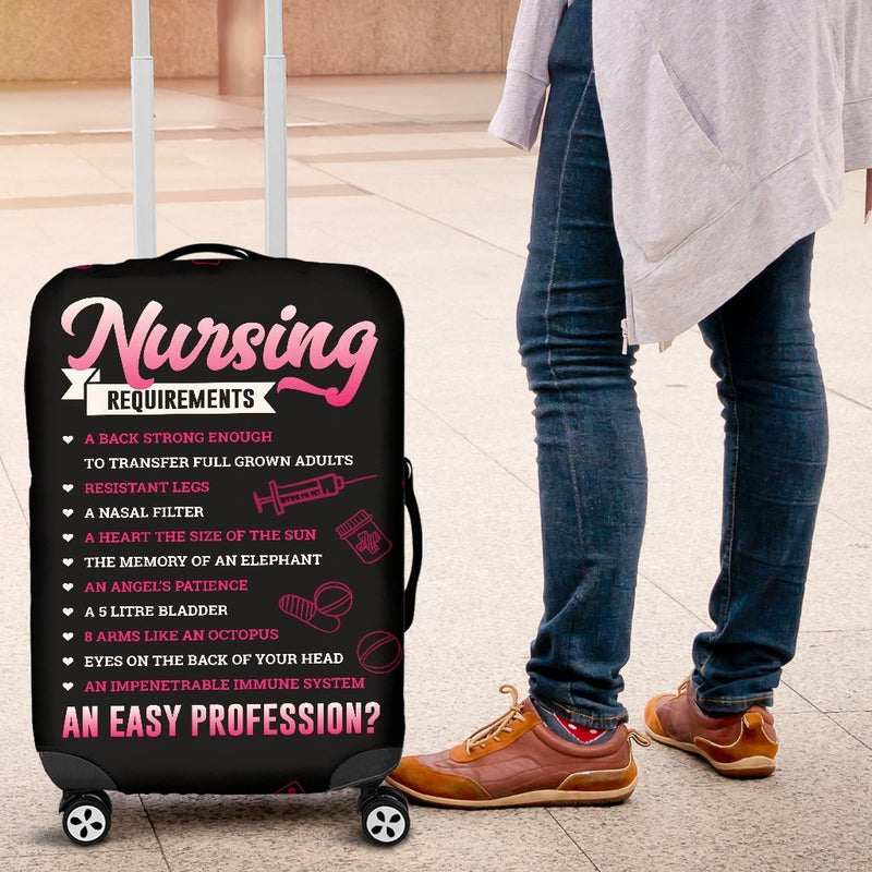 Beautiful Nursing Requirements Luggage Cover interestprint