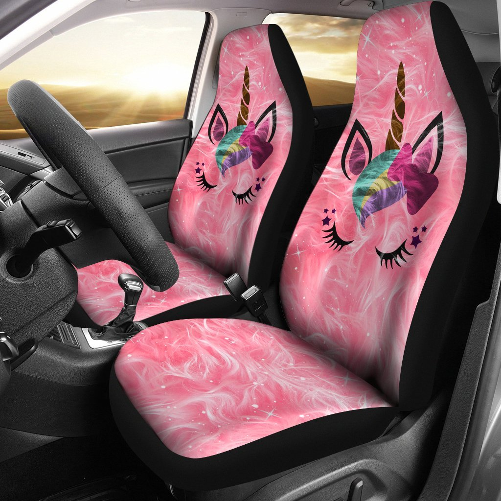Beautiful Unicorn Car Seat Covers Set Of 2 My Soul Spirit