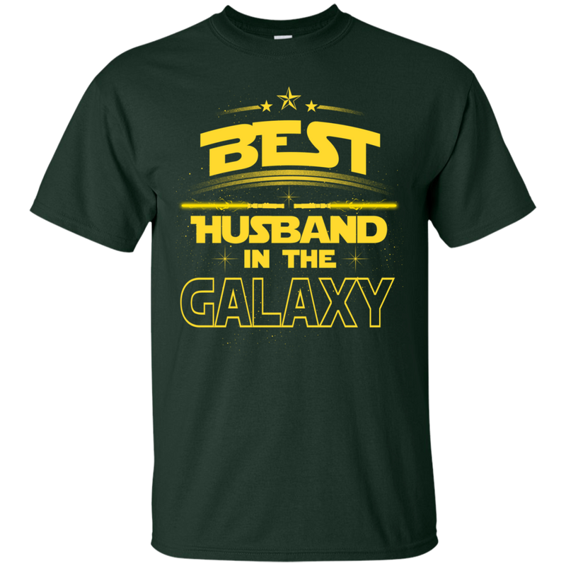 Best Husband In The Galaxy T-shirt CustomCat