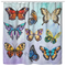 Butterfly Shower Curtains Color For Bathroom Decor