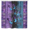 Butterfly Shower Curtains Faith Hope Love Butterflies Purple And Blue For Bathroom Decor