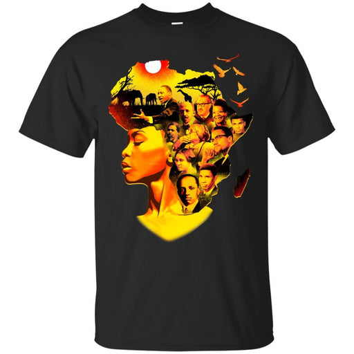 Buy I Love My Roots T-Shirt - Patriotic Black History Month ,American African Women Shirts CustomCat