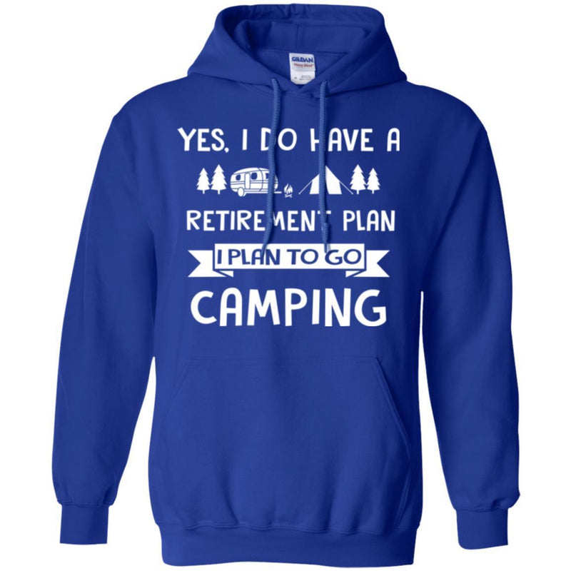 Camping T-Shirt You Don't Have Tobe Crazy To Me My Camping Friend I Will Train You Camper Tee Shirt CustomCat