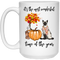 Cat Coffee Mug It's The Most Wonderful Time Of The Year Siamese Cat 11oz - 15oz White Mug CustomCat