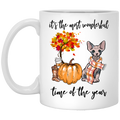 Cat Coffee Mug It's The Most Wonderful Time Of The Year Sphynx Cat 11oz - 15oz White Mug CustomCat