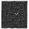 Cat Shower Curtain Multi Black Cats For Bathroom Decor