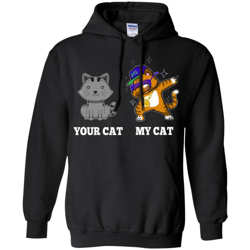 Cat T Shirt Your Cat My Cat Dabbing Cute Kitty Lovers Shirt CustomCat