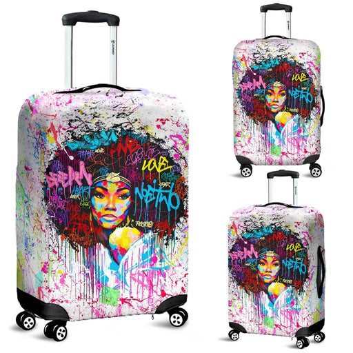 Charming Black Girl Luggage Covers My Soul & Spirit