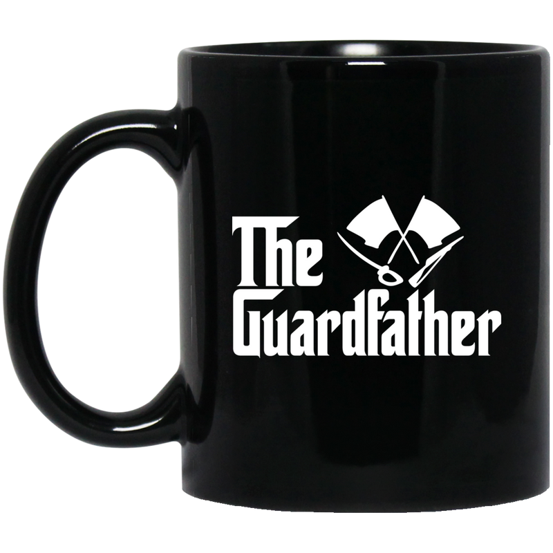 Coast Guard Coffee Mug The Guard Father 11oz - 15oz Black Mug CustomCat