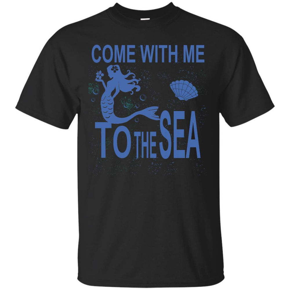 Come With Me To The Sea Mermaid T-shirt & Hoodie CustomCat