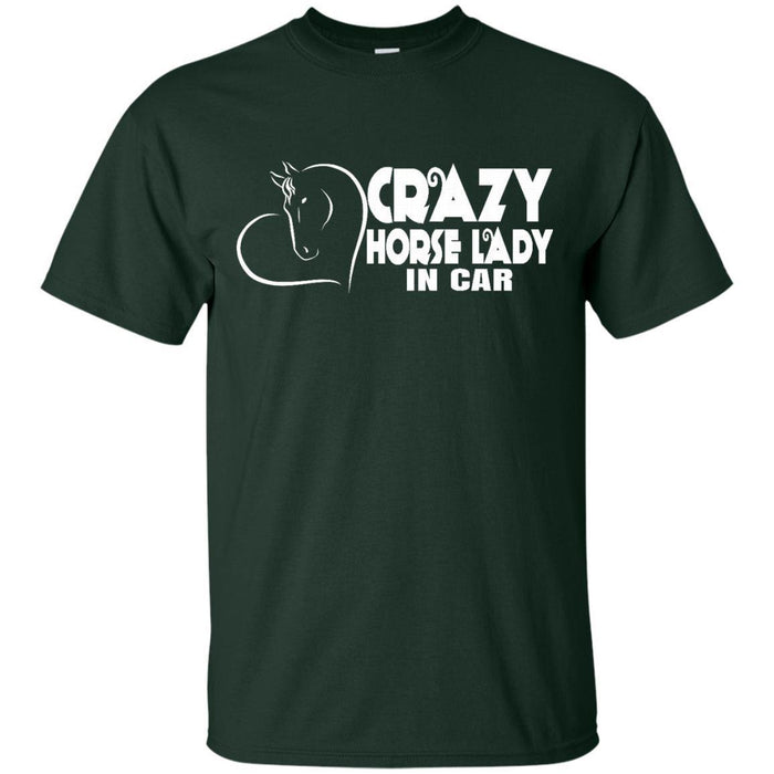 Crazy Horse Lady Tshirt CustomCat