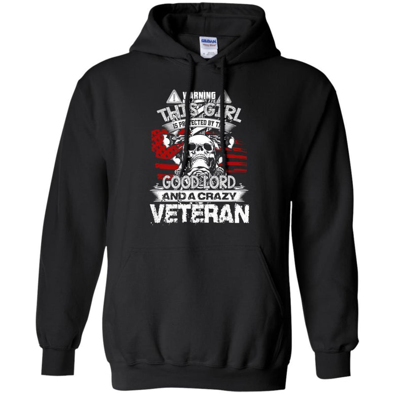 Crazy Veterans T-shirts & Hoodie for Veteran's Day CustomCat