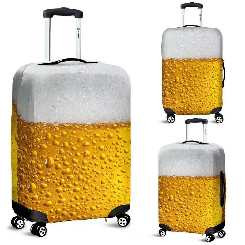 Creative Design Of Beer Luggage Cover interestprint
