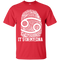 CustomCat Custom Ultra Cotton T-Shirt / Red / Small Cancer Tshirt & Hoodie