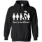 CustomCat G185 Gildan Pullover Hoodie 8 oz. / Black / Medium Dare To Be Different
