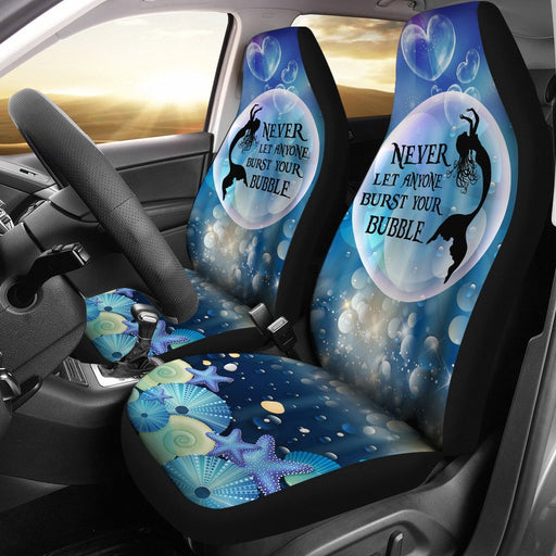 Daily Inspiration Mermaid Car seat cover ( Set of 2 ) My Soul & Spirit