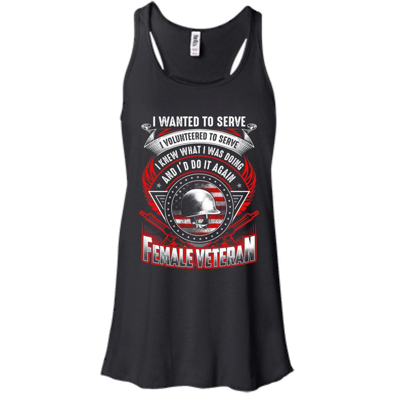Don't Do It Again Female Veterans T-shirts & Hoodie for Veteran's Day CustomCat