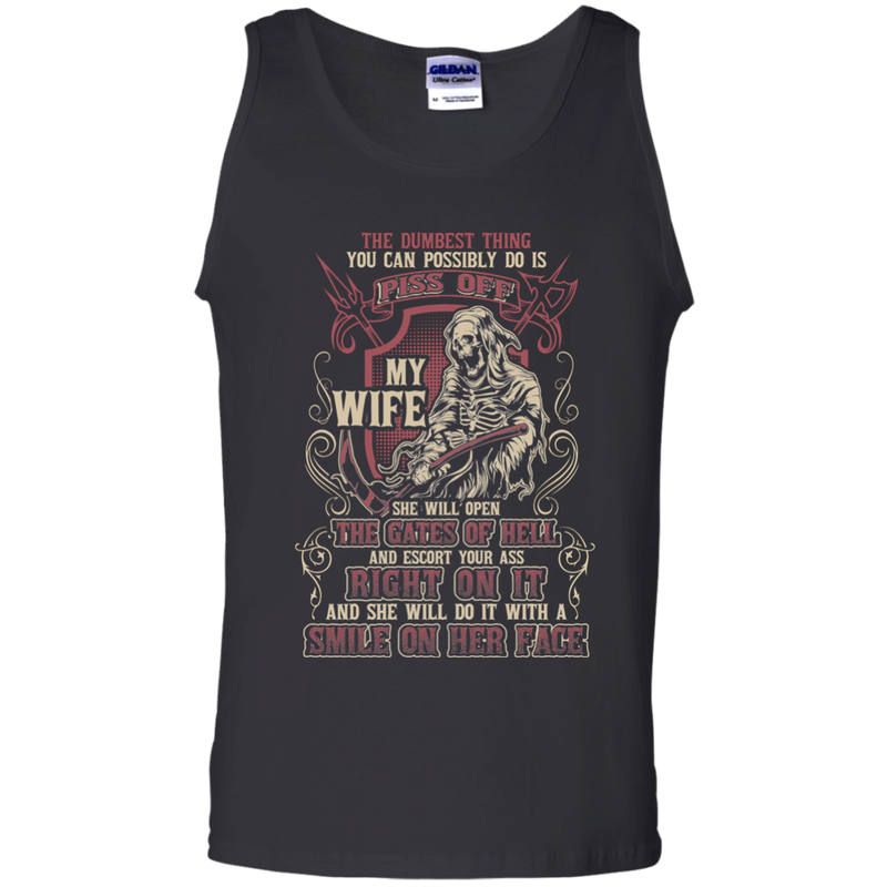 Don't Piss Off My Wife Funny Tshirts For Valentine CustomCat