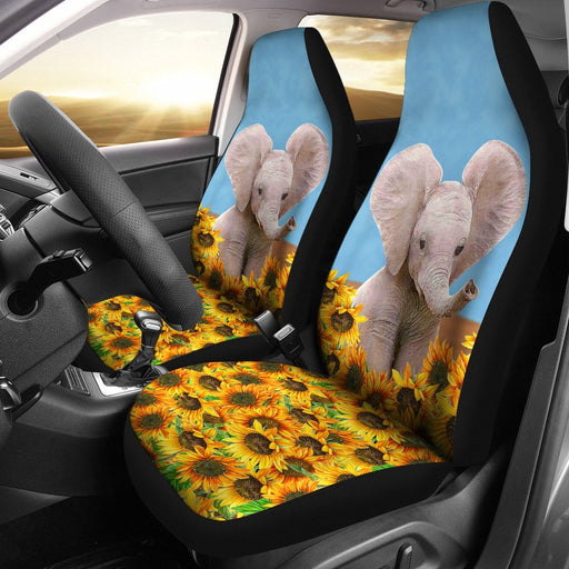 Elephant Sunflower Car Seat Cover Seat Of 2 My Soul And Spirit
