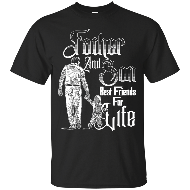 Father and Son Best Friends For Life T-shirt CustomCat